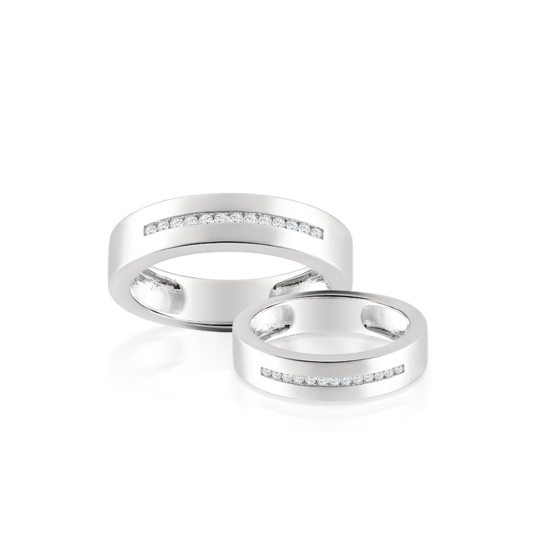 Nhẫn cưới kim cương Lucy