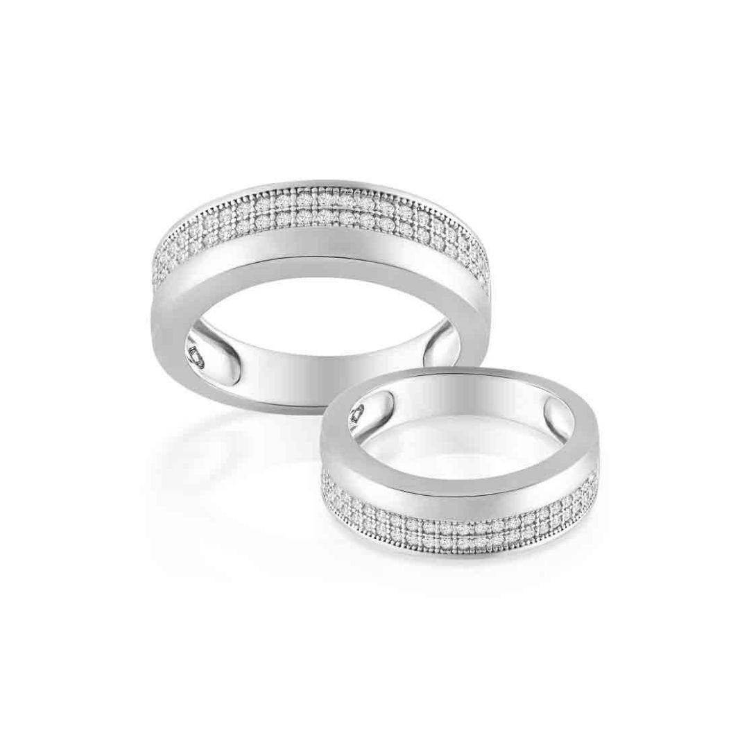 Nhẫn cưới vàng nữ My Heart
