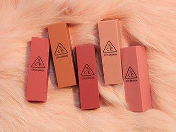 Bộ sưu tập 3CE Velvet Lip Color - Dòng son mới cho mùa lạnh