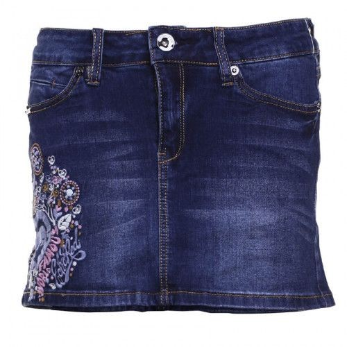 Ecko Unltd Váy jeans Garden Party IS16-38003B COBAL