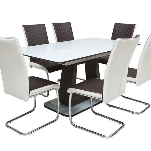 Bộ bàn ăn Hong Kong DI-630 ( bàn + 6 ghế )